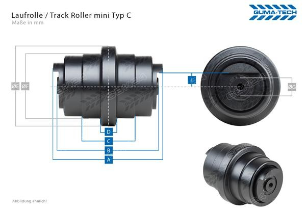 Laufrolle/Track Roller