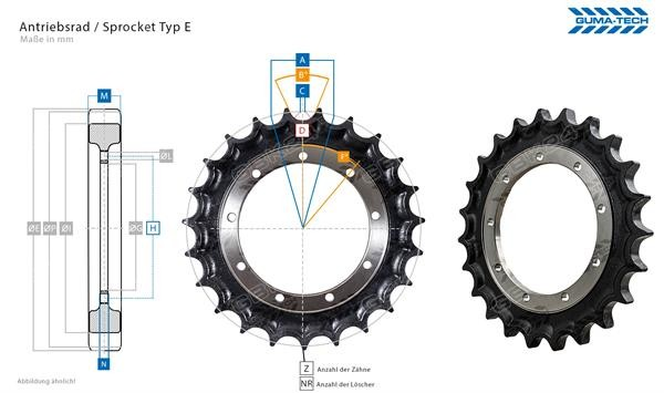Turas/Sprocket/Cat307